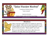 Spicy Number Monkey  Comparing Numbers  Least -Greatest
