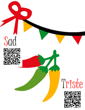 Palabras Picosas: Sínonimos QR   Spicy Words: QR Synonyms