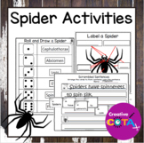 Spider Writing Activities and Worksheets