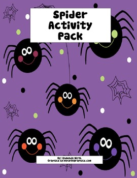 Spider Activity Pack-WirthIt