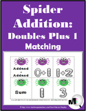 Doubles Plus One Addition - Spider Math - Autumn Activity - Fall Activity