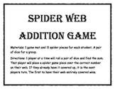 Spider Addition Game