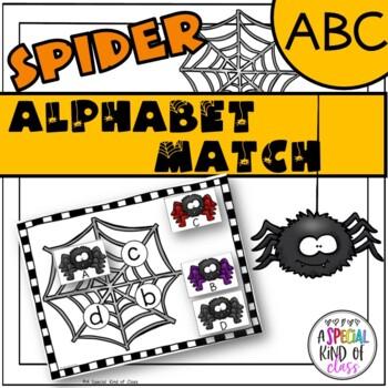 Spider Alphabet Match