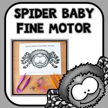 Spider Babies Fine Motor Mat