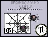 Spider Beginning Sounds