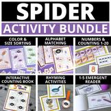 Spider Activities for Preschool & PreK | Halloween Literac