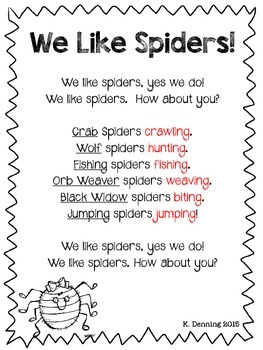Spider Chants