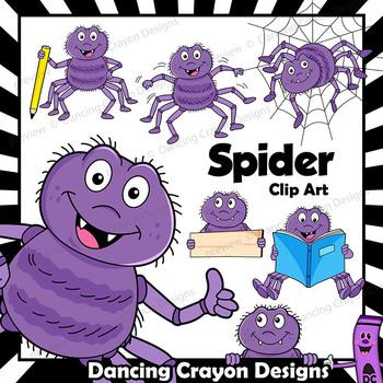 Spider Clip Art