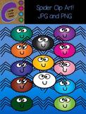 Spider Clip Art  Color Images