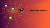 Spider Count and Cover - Google Slides & SeeSaw