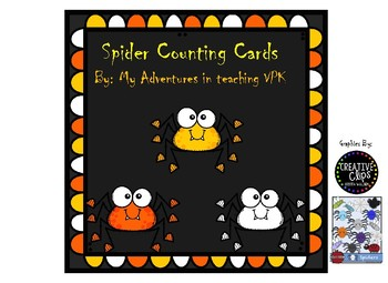 Spider Counting Cards