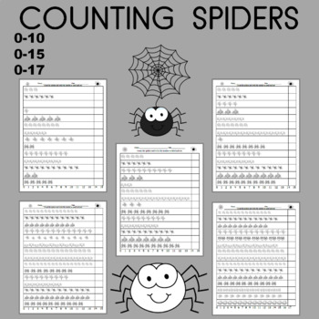 Spider Counting , Early Numeracy