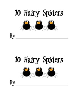 Spider Counting Pack
