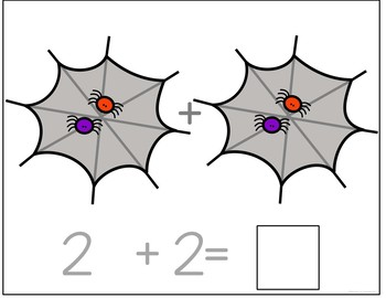 Spider Counting and Addition Books: Interactive and Differentiated