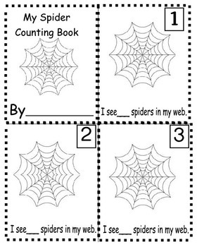 Spider Counting book