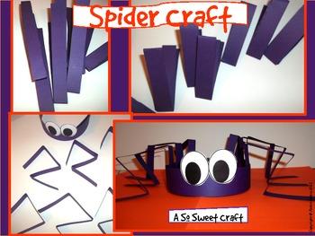 Spider Craft: {A So Sweet Craft Spider Hat}
