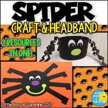 Spider Halloween Craft & Hat