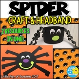 Halloween Spider Craft & Hat