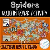 Spiders Activity Bulletin Board