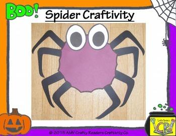 Spider Craftivity