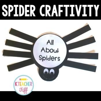Spider Flip Book Craftivity