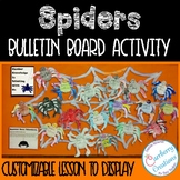Halloween Bulletin Board Spiders Activity