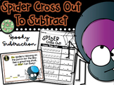 Spider Cross Out to Subtract
