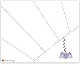 Spider Cutting Practice Sheet