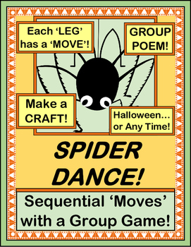 """""""Spider Dance!"""" -- Group Game Fun with Alternating Movements"""