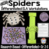 Spider Differentiated ELA Reading Centers