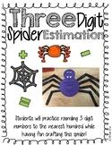 Spider Estimation- 3 digit numbers