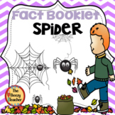 Spider Fact Booklet with Digital Activities