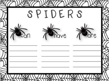 Spider Facts! {2 Informative Writing Craftivities}