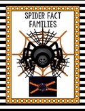 Spider Fact Family Craftivity
