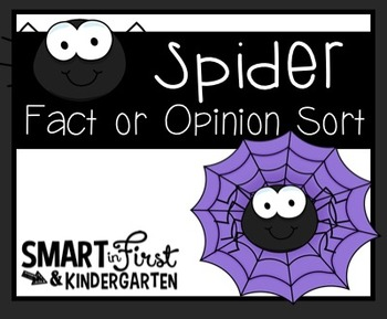 Spider Fact and Opinion Sort