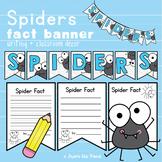 Spider Facts Banner