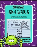 Spider Facts Flipbook and Sight Word Game
