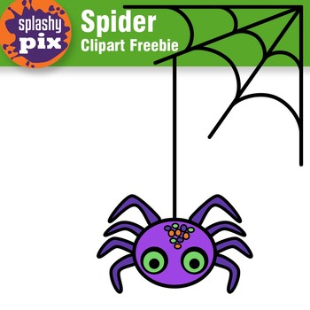 Spider Freebie Clipart