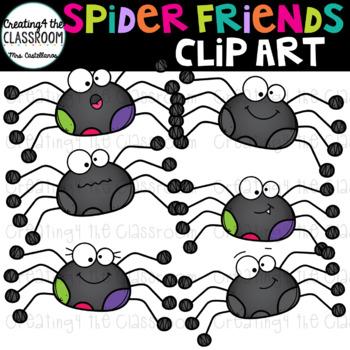 Spider Friends Clip Art {Halloween Clip Art} 18 images