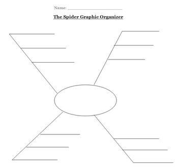 Spider Graphic Organizer