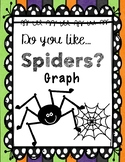 Spider Graphing - Halloween Graph