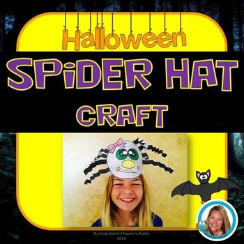 Spider Hat Craft Halloween Activities