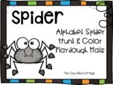 Spider Hunt and Playdough mats