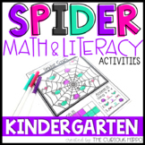 Spider Activities for Kindergarten