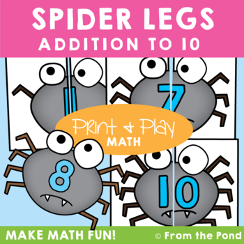 Spider Legs Addition Game