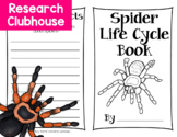 Spider Life Cycle Research Book