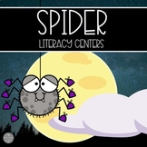 """Spider Literacy Centers 15 Centers with """"Science Infused"""""""