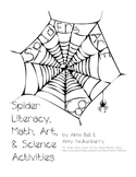 Spider Literacy, Math, Art & Science Activities for 1st or 2nd Grade