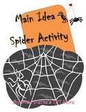 Spider Main Idea Activity