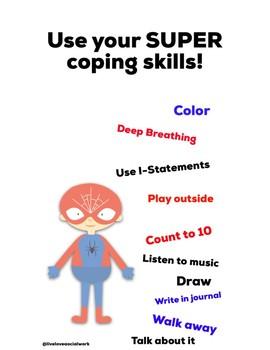 Spider Man Coping Skills
